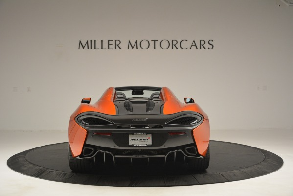 New 2019 McLaren 570S Spider Convertible for sale Sold at Bugatti of Greenwich in Greenwich CT 06830 6