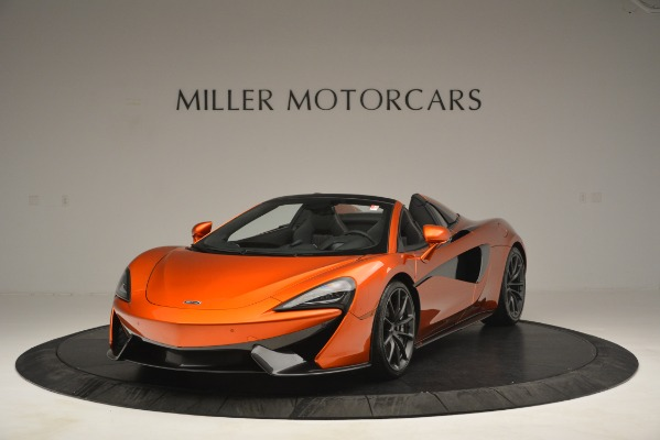 New 2019 McLaren 570S Spider Convertible for sale Sold at Bugatti of Greenwich in Greenwich CT 06830 1