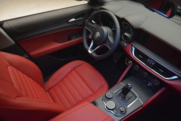 New 2019 Alfa Romeo Stelvio Ti Lusso Q4 for sale Sold at Bugatti of Greenwich in Greenwich CT 06830 15