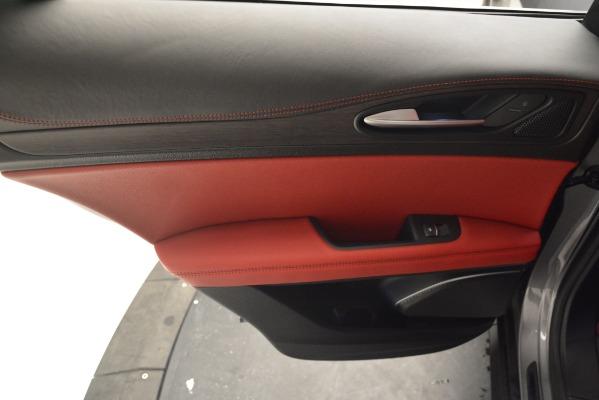 New 2019 Alfa Romeo Stelvio Ti Lusso Q4 for sale Sold at Bugatti of Greenwich in Greenwich CT 06830 19