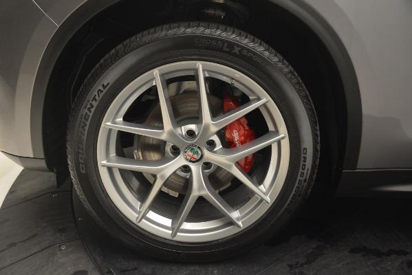 New 2019 Alfa Romeo Stelvio Ti Lusso Q4 for sale Sold at Bugatti of Greenwich in Greenwich CT 06830 20