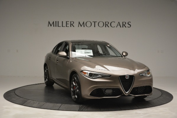 New 2019 Alfa Romeo Giulia Ti Sport Q4 for sale Sold at Bugatti of Greenwich in Greenwich CT 06830 15