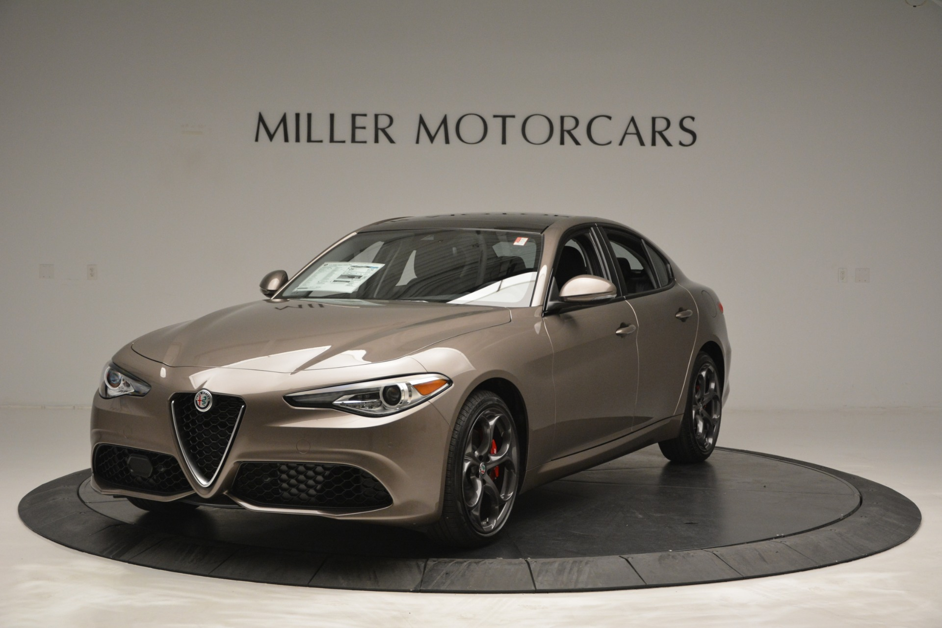 New 2019 Alfa Romeo Giulia Ti Sport Q4 for sale Sold at Bugatti of Greenwich in Greenwich CT 06830 1