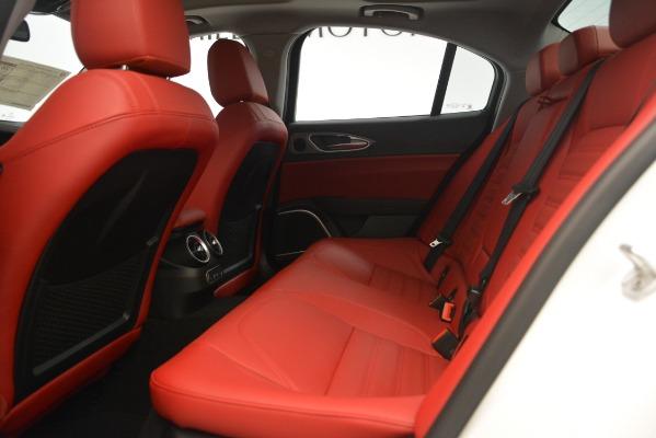 New 2019 Alfa Romeo Giulia Ti Sport Q4 for sale Sold at Bugatti of Greenwich in Greenwich CT 06830 19