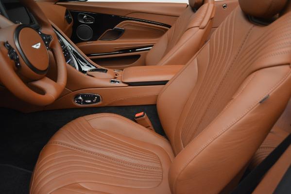 Used 2019 Aston Martin DB11 V8 Convertible for sale Sold at Bugatti of Greenwich in Greenwich CT 06830 18