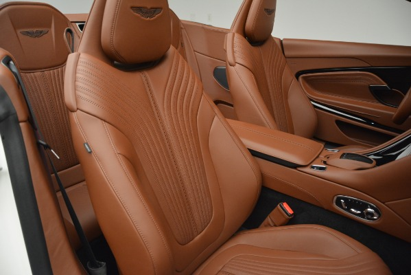 Used 2019 Aston Martin DB11 V8 Convertible for sale Sold at Bugatti of Greenwich in Greenwich CT 06830 22