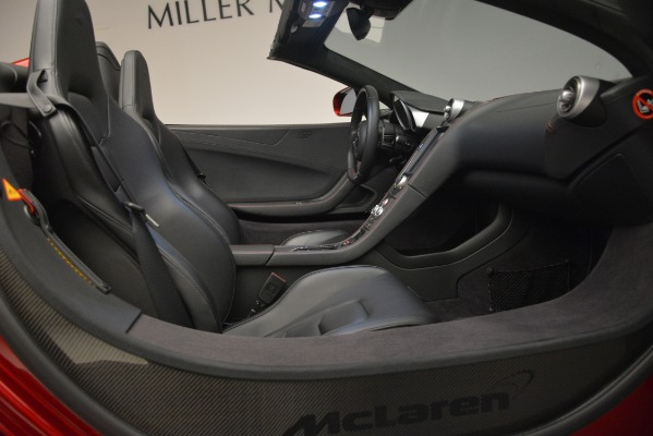 Used 2015 McLaren 650S Spider for sale Sold at Bugatti of Greenwich in Greenwich CT 06830 28