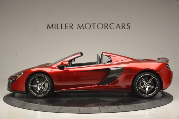 Used 2015 McLaren 650S Spider for sale Sold at Bugatti of Greenwich in Greenwich CT 06830 3