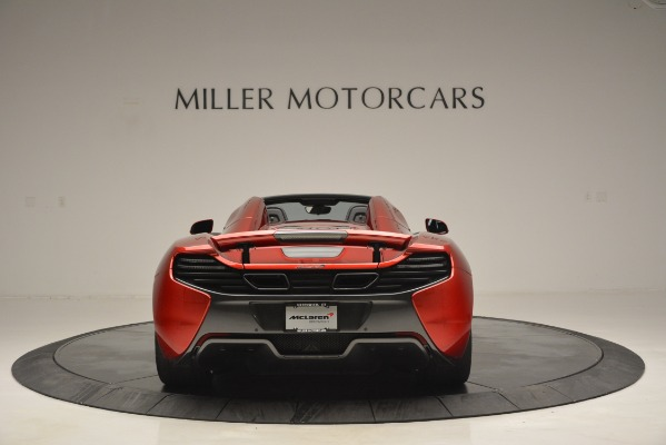Used 2015 McLaren 650S Spider for sale Sold at Bugatti of Greenwich in Greenwich CT 06830 6