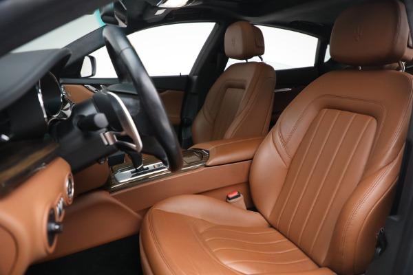 Used 2015 Maserati Quattroporte S Q4 for sale Sold at Bugatti of Greenwich in Greenwich CT 06830 13