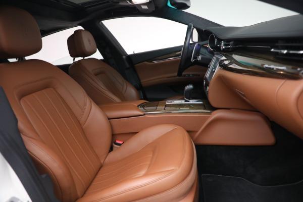 Used 2015 Maserati Quattroporte S Q4 for sale Sold at Bugatti of Greenwich in Greenwich CT 06830 20