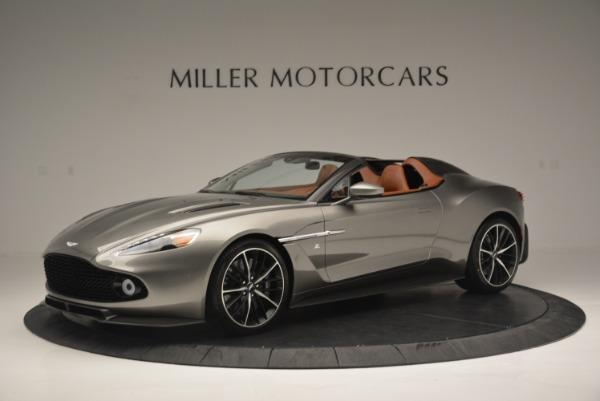 Used 2018 Aston Martin Zagato Speedster Convertible for sale Sold at Bugatti of Greenwich in Greenwich CT 06830 1