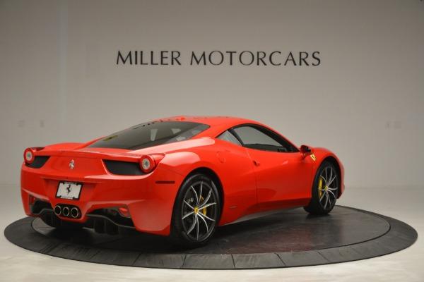Used 2014 Ferrari 458 Italia for sale Sold at Bugatti of Greenwich in Greenwich CT 06830 7