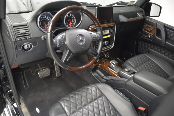Used 2016 Mercedes-Benz G-Class AMG G 65 for sale Sold at Bugatti of Greenwich in Greenwich CT 06830 14