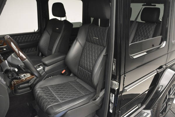Used 2016 Mercedes-Benz G-Class AMG G 65 for sale Sold at Bugatti of Greenwich in Greenwich CT 06830 16