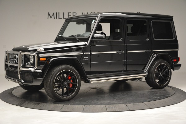 Used 2016 Mercedes-Benz G-Class AMG G 65 for sale Sold at Bugatti of Greenwich in Greenwich CT 06830 2