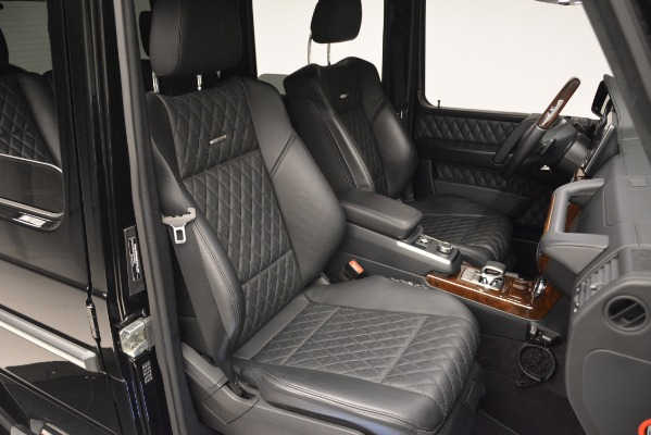 Used 2016 Mercedes-Benz G-Class AMG G 65 for sale Sold at Bugatti of Greenwich in Greenwich CT 06830 23