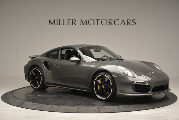 Used 2015 Porsche 911 Turbo S for sale Sold at Bugatti of Greenwich in Greenwich CT 06830 10