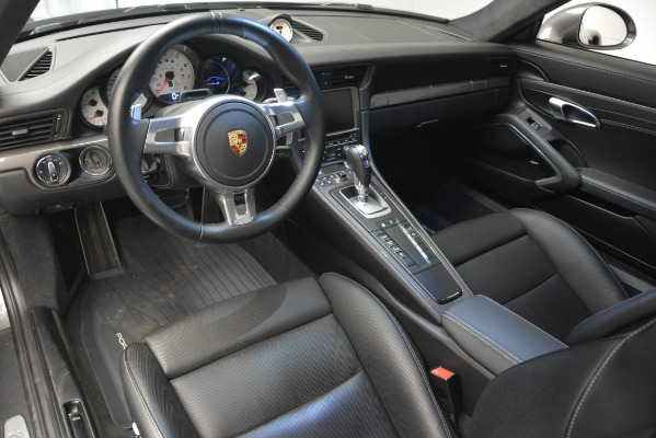 Used 2015 Porsche 911 Turbo S for sale Sold at Bugatti of Greenwich in Greenwich CT 06830 14