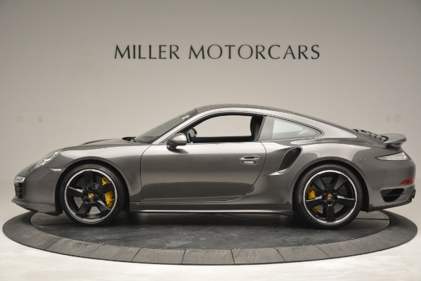 Used 2015 Porsche 911 Turbo S for sale Sold at Bugatti of Greenwich in Greenwich CT 06830 3