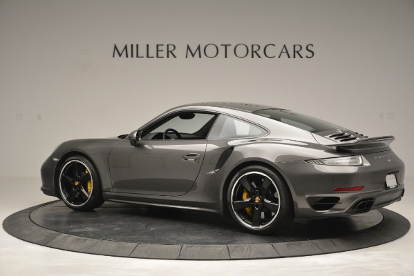 Used 2015 Porsche 911 Turbo S for sale Sold at Bugatti of Greenwich in Greenwich CT 06830 4