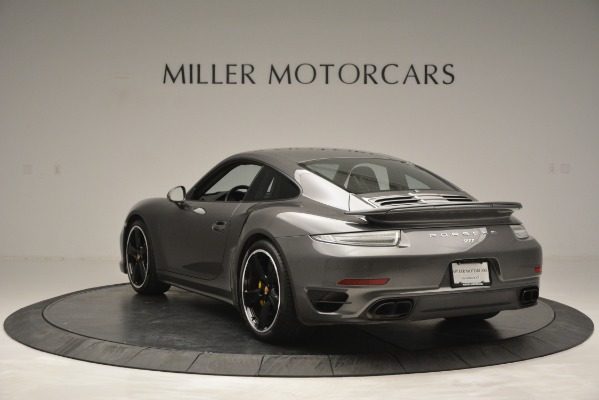 Used 2015 Porsche 911 Turbo S for sale Sold at Bugatti of Greenwich in Greenwich CT 06830 5