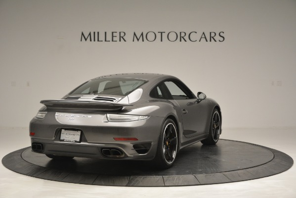 Used 2015 Porsche 911 Turbo S for sale Sold at Bugatti of Greenwich in Greenwich CT 06830 7