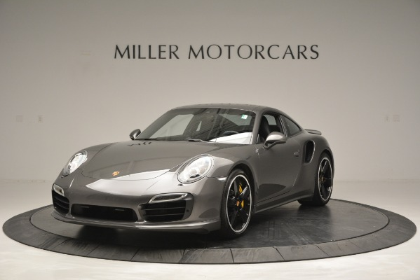 Used 2015 Porsche 911 Turbo S for sale Sold at Bugatti of Greenwich in Greenwich CT 06830 1