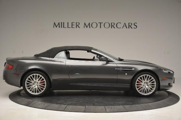 Used 2009 Aston Martin DB9 Convertible for sale Sold at Bugatti of Greenwich in Greenwich CT 06830 13