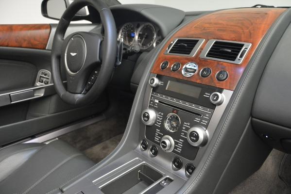 Used 2009 Aston Martin DB9 Convertible for sale Sold at Bugatti of Greenwich in Greenwich CT 06830 25