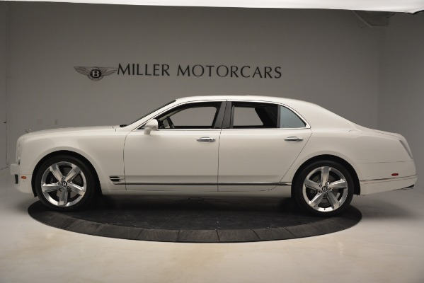 Used 2016 Bentley Mulsanne Speed for sale Sold at Bugatti of Greenwich in Greenwich CT 06830 3