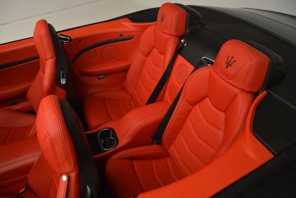 Used 2015 Maserati GranTurismo Sport for sale Sold at Bugatti of Greenwich in Greenwich CT 06830 28