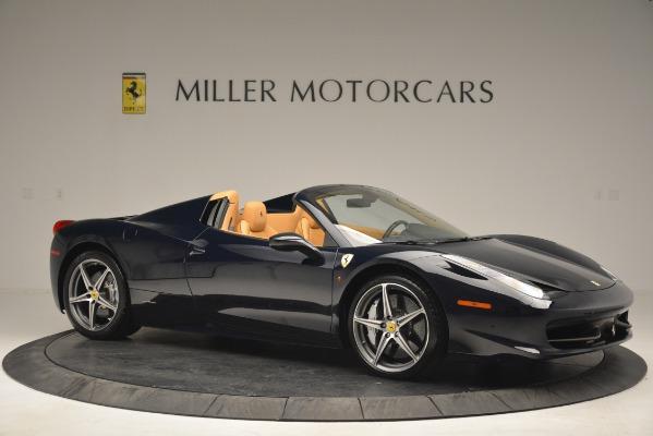 Used 2014 Ferrari 458 Spider for sale Sold at Bugatti of Greenwich in Greenwich CT 06830 10