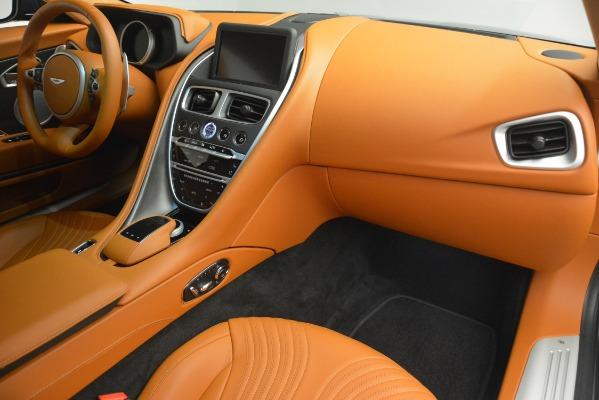 Used 2018 Aston Martin DB11 V12 Coupe for sale Sold at Bugatti of Greenwich in Greenwich CT 06830 20
