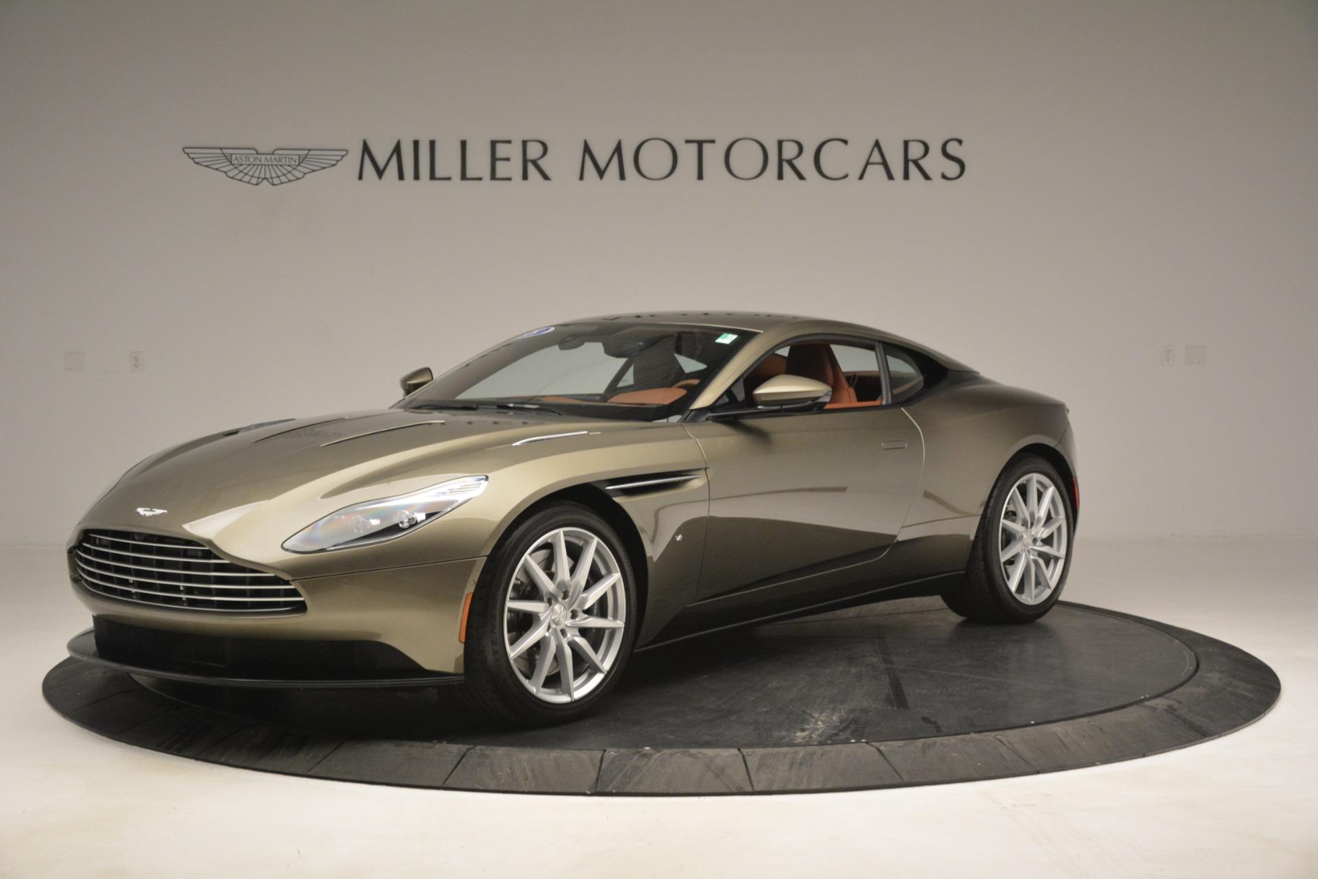 Used 2018 Aston Martin DB11 V12 Coupe for sale Sold at Bugatti of Greenwich in Greenwich CT 06830 1