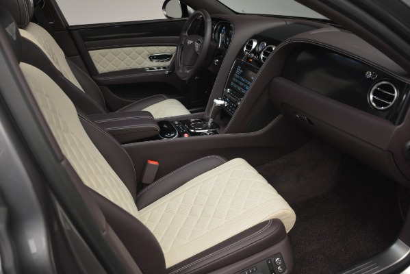 Used 2018 Bentley Flying Spur W12 S for sale Sold at Bugatti of Greenwich in Greenwich CT 06830 28