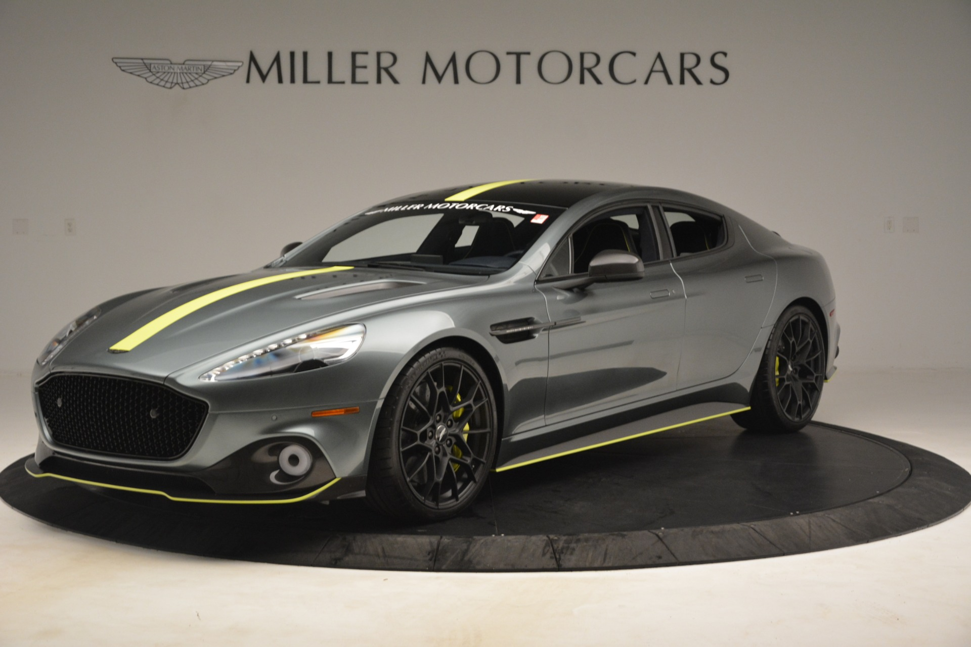 New 2019 Aston Martin Rapide AMR Sedan for sale $282,980 at Bugatti of Greenwich in Greenwich CT 06830 1