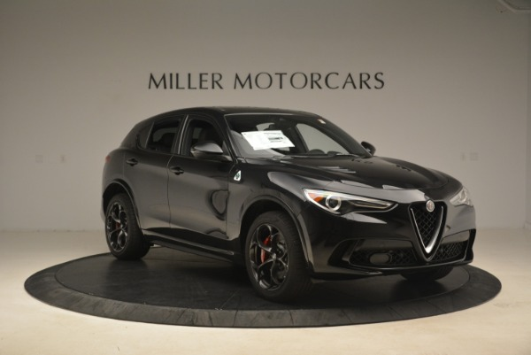 New 2019 Alfa Romeo Stelvio Quadrifoglio for sale $86,440 at Bugatti of Greenwich in Greenwich CT 06830 11
