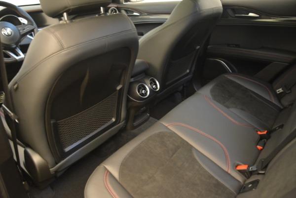 Used 2019 Alfa Romeo Stelvio Quadrifoglio for sale Sold at Bugatti of Greenwich in Greenwich CT 06830 17
