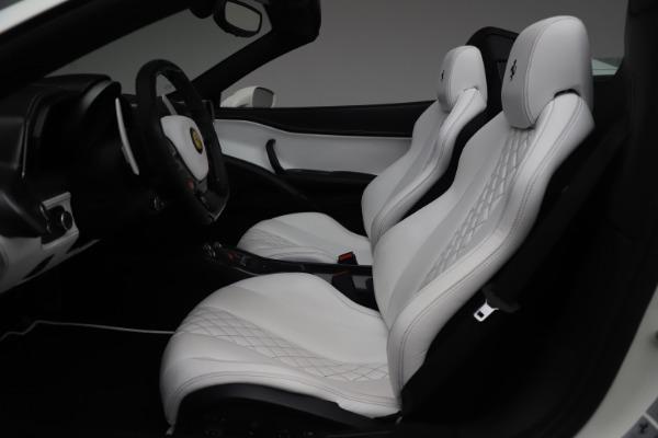 Used 2015 Ferrari 458 Spider for sale Sold at Bugatti of Greenwich in Greenwich CT 06830 18