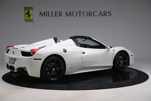 Used 2015 Ferrari 458 Spider for sale Sold at Bugatti of Greenwich in Greenwich CT 06830 8