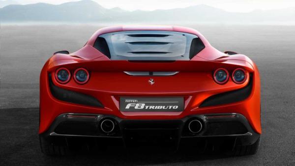 New 2020 Ferrari F8 Tributo for sale Call for price at Bugatti of Greenwich in Greenwich CT 06830 5