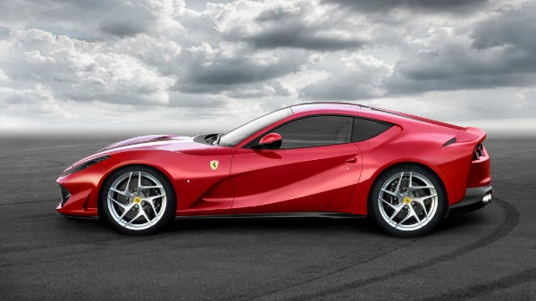 New 2021 Ferrari 812 Superfast for sale Call for price at Bugatti of Greenwich in Greenwich CT 06830 2