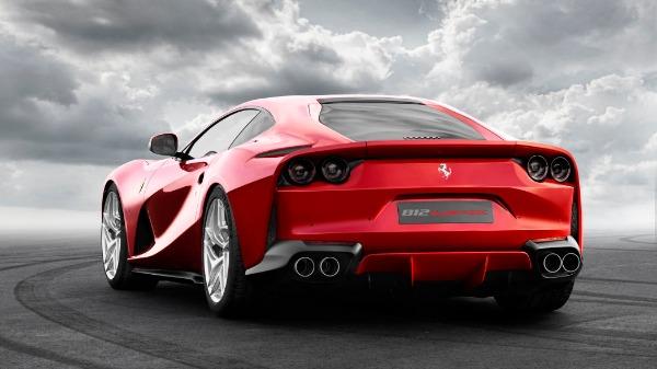 New 2021 Ferrari 812 Superfast for sale Call for price at Bugatti of Greenwich in Greenwich CT 06830 3