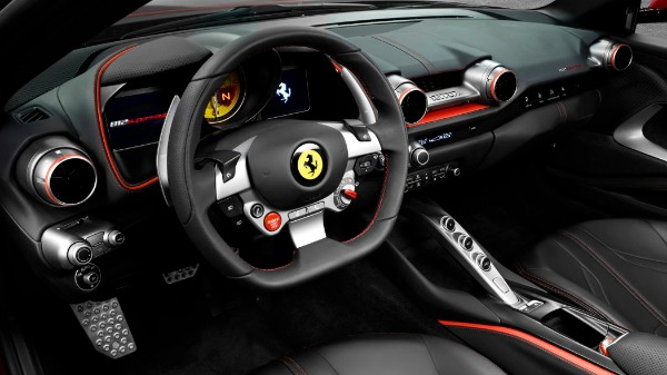 New 2021 Ferrari 812 Superfast for sale Call for price at Bugatti of Greenwich in Greenwich CT 06830 5