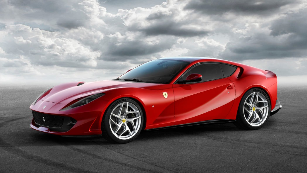New 2021 Ferrari 812 Superfast for sale Call for price at Bugatti of Greenwich in Greenwich CT 06830 1