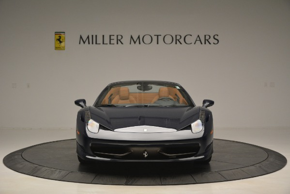 Used 2014 Ferrari 458 Spider for sale Sold at Bugatti of Greenwich in Greenwich CT 06830 12