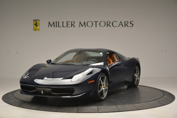 Used 2014 Ferrari 458 Spider for sale Sold at Bugatti of Greenwich in Greenwich CT 06830 13