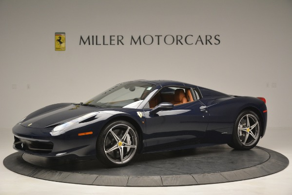 Used 2014 Ferrari 458 Spider for sale Sold at Bugatti of Greenwich in Greenwich CT 06830 14
