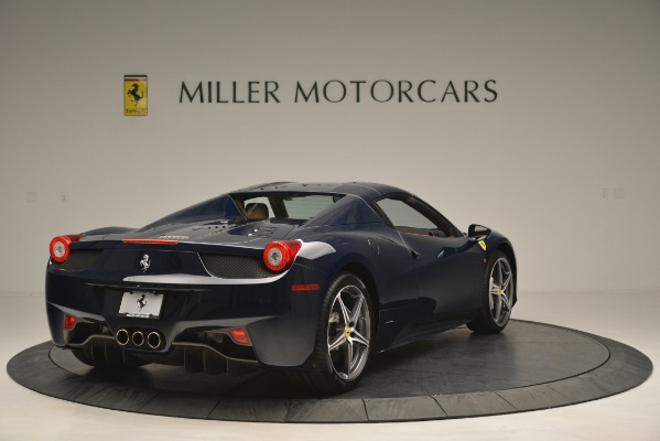 Used 2014 Ferrari 458 Spider for sale Sold at Bugatti of Greenwich in Greenwich CT 06830 19